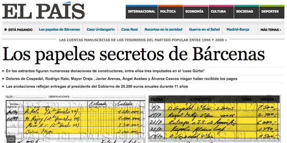 La filtración de la contabilidad secreta del PP ha dejado a los españoles sin esperanza en la clase política (Imagen: Periodista Digital)
